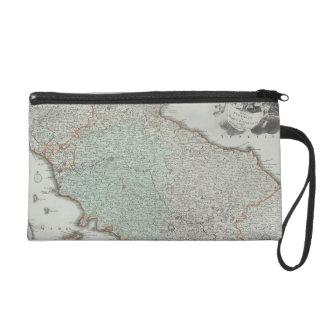 ラツィオ州、イタリアの旧式な地図 リストレット
