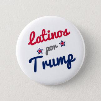 ラテンアメリカ人のporの切札のスペイン語 5.7cm 丸型バッジ