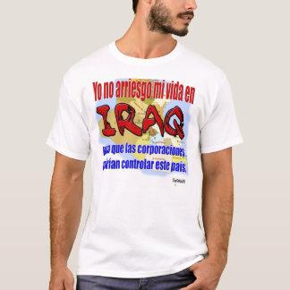 ラテンアメリカ人イラクは抗議を診察します Tシャツ