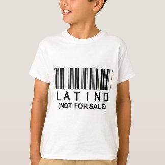 ラテンアメリカ系のバーコード Tシャツ