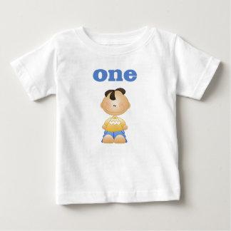ラテンアメリカ系の男の子1 ベビーTシャツ