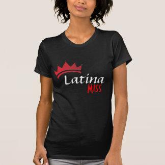 ラテンアメリカ系女性の失敗のTシャツ Tシャツ