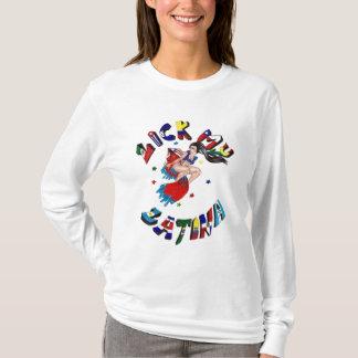 ラテンアメリカ系女性を舐めて下さい Tシャツ
