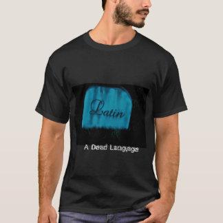 ラテン死んだ言語 Tシャツ