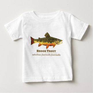 ラテン系のカワマス ベビーTシャツ