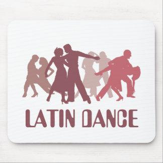 ラテン系のダンサーの絵 マウスパッド