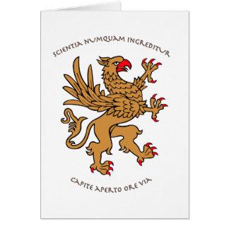 ラテン系のモットーおよび紋章学 カード