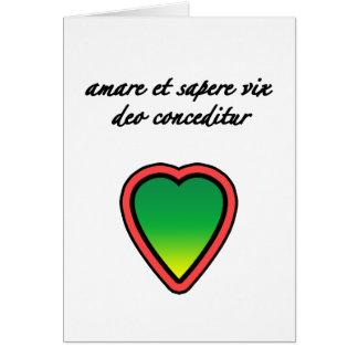 ラテン系の恋人 カード