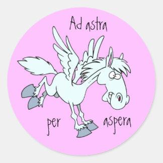 ラテン: asperaごとの広告のastra ラウンドシール
