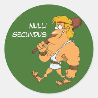 ラテン: Nulliのsecundus ラウンドシール