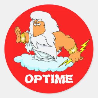 ラテン: Optime! ラウンドシール