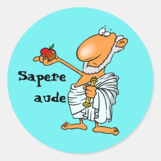 ラテン: Sapereオード ラウンドシール