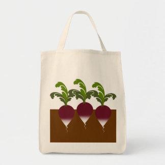 ラディッシュの買い物袋 トートバッグ