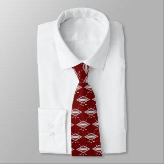 ラトビアのアイスホッケーの旗のロゴのタイ ネクタイ