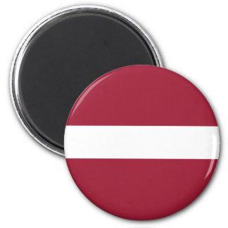 ラトビアの旗の磁石 マグネット