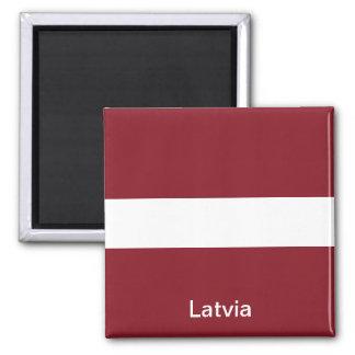 ラトビアの旗 マグネット