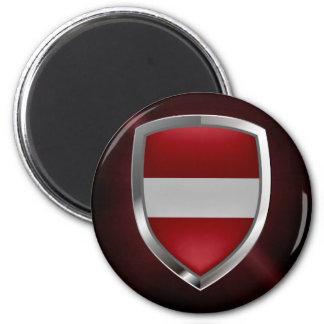 ラトビアの金属紋章 マグネット
