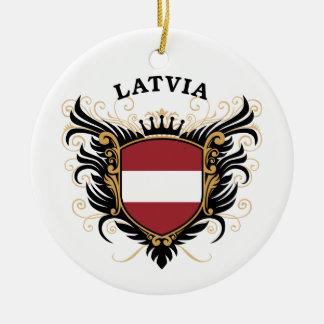 ラトビア セラミックオーナメント