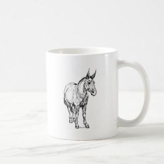 ラバのシンプルのスケッチ コーヒーマグカップ