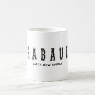 ラバウルパプアニューギニア コーヒーマグカップ