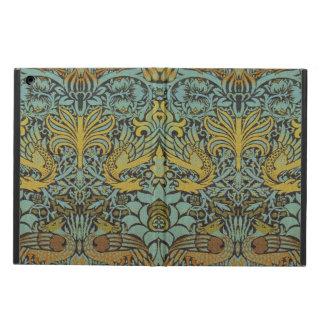 ラファエロ前の画家のウィリアム・モリスの孔雀およびドラゴン iPad AIRケース