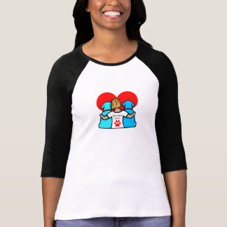 ラブラドルのお母さん Tシャツ
