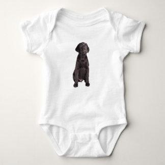ラブラドルの子犬 ベビーボディスーツ