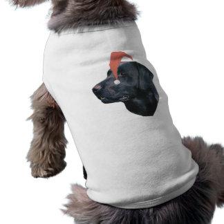 ラブラドル・レトリーバー犬のサンタの帽子 ペット服
