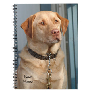 ラブラドル・レトリーバー犬のノート ノートブック