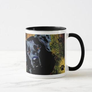 ラブラドル・レトリーバー犬のマグ マグカップ