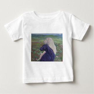 ラブラドル・レトリーバー犬の救助スコットランド ベビーTシャツ