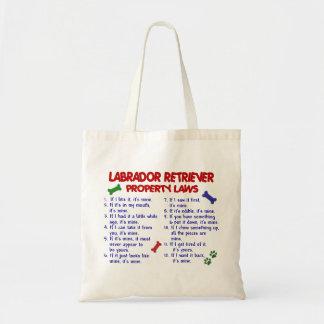 ラブラドル・レトリーバー犬の特性の法律 トートバッグ