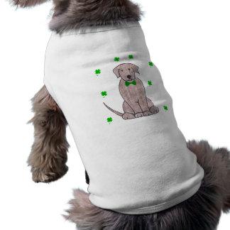 ラブラドル・レトリーバー犬チョコレートSaint patricks day ペット服
