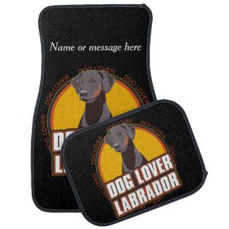 ラブラドル・レトリーバー犬犬の品種恋人の名前をカスタムする カーマット
