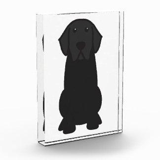 ラブラドル・レトリーバー犬犬の漫画 表彰盾