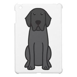 ラブラドル・レトリーバー犬犬の漫画 iPad MINIケース