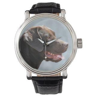 ラブラドル・レトリーバー犬犬 腕時計