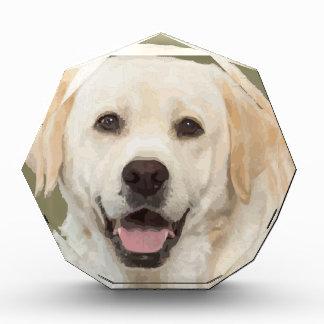 ラブラドル・レトリーバー犬1 表彰盾