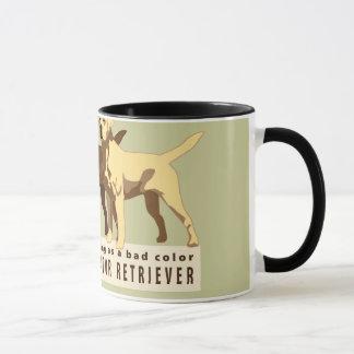 ラブラドル・レトリーバー犬3色 マグカップ
