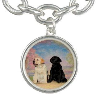 ラブラドル・レトリーバー犬 チャームブレスレット