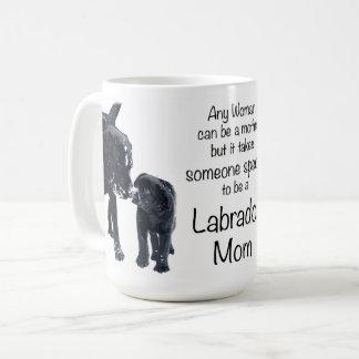 ラブラドールのお母さん コーヒーマグカップ