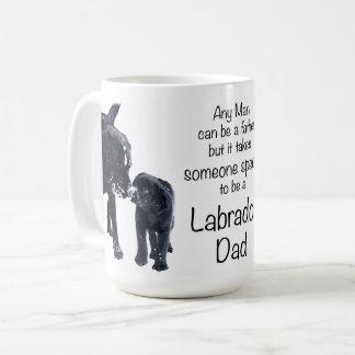 ラブラドールのパパ コーヒーマグカップ