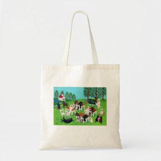 ラブラドールの学校 トートバッグ