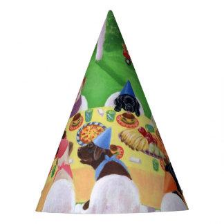 ラブラドールの誕生会の帽子 パーティーハット