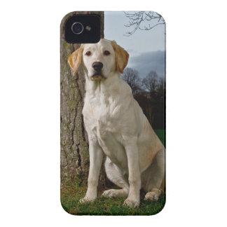 ラブラドールのiPhone 4/4S Case mateやっとそこに Case-Mate iPhone 4 ケース
