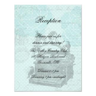 ラブレターの披露宴カードを結婚するヴィンテージ カード