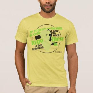 ラプラス(多彩なタイポグラフィ版) Tシャツ