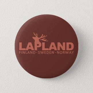 ラプランドのカスタムボタン 5.7CM 丸型バッジ