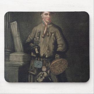 ラプランドの彼の服のカール・フォン・リンネ マウスパッド
