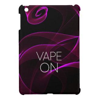 ラベンダーのグランジな煙のVape iPad Miniケース